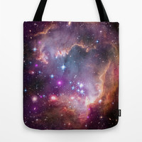 Small Magellanic Cloud Tote Bag by SuzanneCarter | Society6