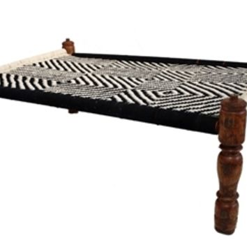 Wooden charpai - Traditional Indian Furniture