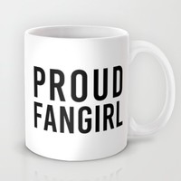 FANGIRL Mug by The Fandom Designs