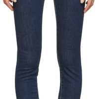 Blue High-Rise Twiggy Jeans