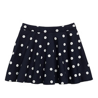 Kate Spade Girls' Circle Skirt Rich Navy Polka Dot