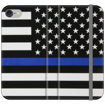 Thin Blue Line Premium Phone Cases