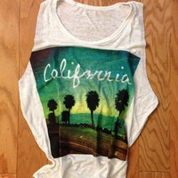 California Loose Tank from ShopWunderlust