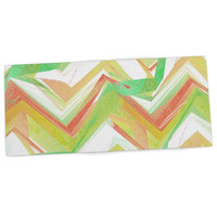 "Alison Coxon ""Summer Party Chevron"" Desk Mat"