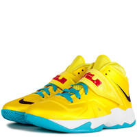 Shoes - Kids - Grade School - Nike Kids Lebron Soldier VII Grade School - Tonic Yellow Black Blue White - DTLR - Down Town Locker Room. Your Fashion, Your Lifestyle! Shop Sneakers, Boots, Basketball shoes and more from Nike, Jordan, Timberland and New Bala
