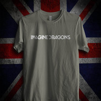 imagine dragons logo Charcoal tshirt men's S,M,L,XL, beautyful tshirt by : jozztshirt