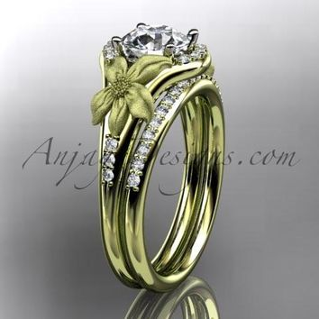 Best Nature Wedding Ring Sets Products on Wanelo