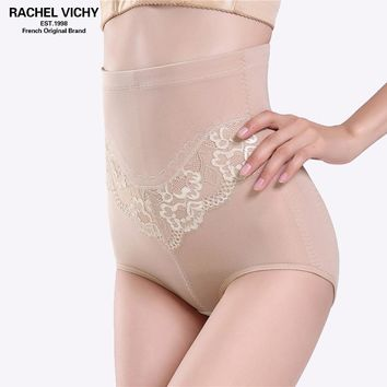 RACHEL VICHY New High Waist Underwear Women Briefs Female Slimming Shapewear Tummy Underwear Control Panties Cinta modelado 6825