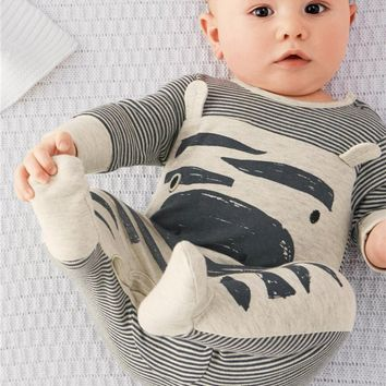 Autumn spring cotton baby boy clothes baby rompers baby clothes newborn infant clothing