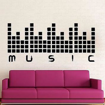 Wall Stickers Vinyl Decal Music Sound Night Club Party Cool Decor Unique Gift (ig1620)