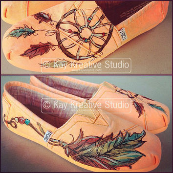 Sweet Dreams' Dreamcatcher Toms Shoe