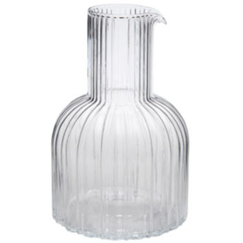 Vignelli Glass Carafe