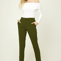 Contemporary Woven Trousers