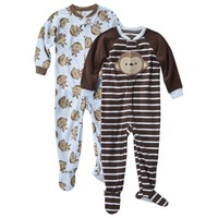 Just One You® by Carter's® Infant Toddler Boys' Fleece Footed Blanket Sleeper Set