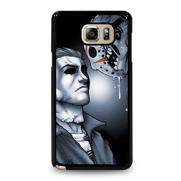MICHAEL MYERS VS JASON Samsung Galaxy Note 4 Case Cover