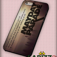 "mayday parade quotes for iphone 4/4s/5/5s/5c/6/6+, Samsung S3/S4/S5/S6, iPad 2/3/4/Air/Mini, iPod 4/5, Samsung Note 3/4 Case ""002"""