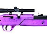Crosman Pink 760 Pumpmaster .177 Caliber BB and Pellet Air Rifle Kit (Pink)