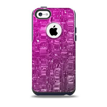 The Hot Pink Mercury Skin for the iPhone 5c OtterBox Commuter Case