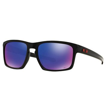 One-nice™ Oakley Sliver Marc Marquez Sunglasses Matte Black Positive Red Iridium OO9262-20