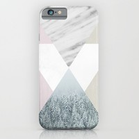 Into the snow iPhone & iPod Case by Cafelab