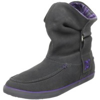 DC Women`s Twilight SE Boot,Dark Shadow/Purple,7.5 M US