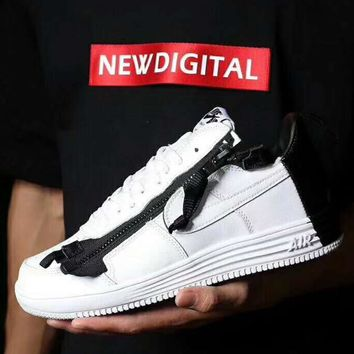 Nike Lab x ACRONYM LUNAR AIR FORCE 1 Casual Shoes Sneakers H-ZPMY-ZZQGDL