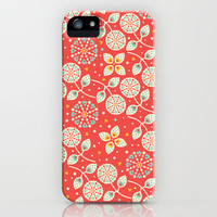 Vintage Flora iPhone & iPod Case by Anna Deegan