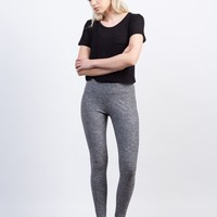 Cropped Workout Leggings