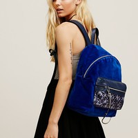 Free People Velveteen Backpack