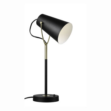 Euro Style Collection Porto 15 Inch Sleek Table Lamp