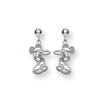 Disney's Mickey Mouse Post Earrings in Sterling Silver