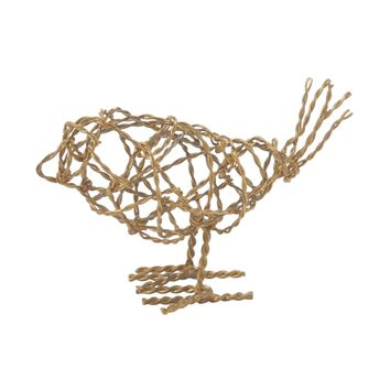 559008 Brass Scribble Bird - Small