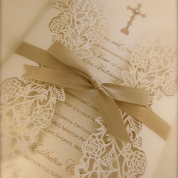 Baptism/Christening Invitation