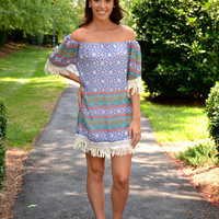Fall Into Fringe dress   Chapter 2 Boutique