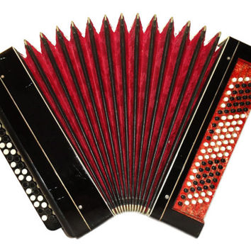 Russian Tula, 100 Bass, Button Bayan, Accordion Instrument, 514