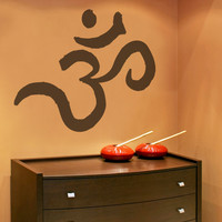 Vinyl Wall Decal Sticker Crown Chakra #OS_MB374