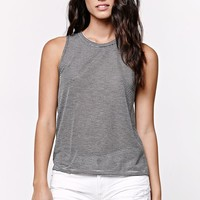 Billabong Essential Striped Muscle Tank Top - Womens Tee