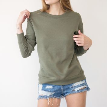 Bessy Sweater - Olive