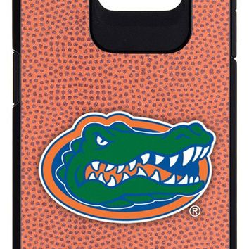 NCAA Florida Gators Classic Football Pebble Grain Feel Samsung Galaxy S6 Case, One Size, Brown