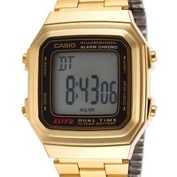 Casio Watch - A178WGA1A (Size: men)