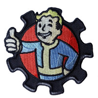 Patch Squad Men's Fallout Thumbs Up Brotherhood Morale Military Applique Patch