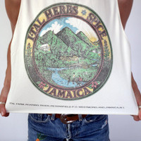 Jamaica Herbs & Spices Farming Cropped Tank Top