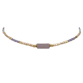 Pretty Please Choker In Lavender