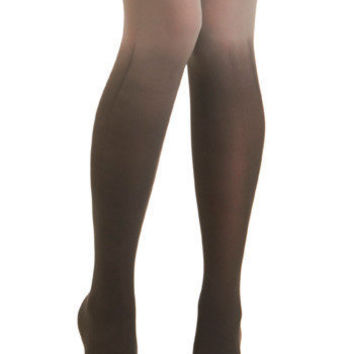 Got It Fade Tights in Charcoal | Mod Retro Vintage Tights | ModCloth.com