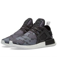 NMD_XR1 (Color Core Black / Black / Running White (BA7231) Camo Pack  adidas shoes nmd