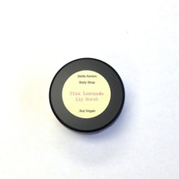 SALE Pink Lemonade Lip Scrub, Stocking Stuffer, Winter Gifts