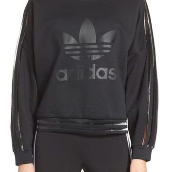 adidas Originals Shadow Stripe Sweatshirt | Nordstrom