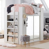 Sleep & Style Wardrobe Loft Bed