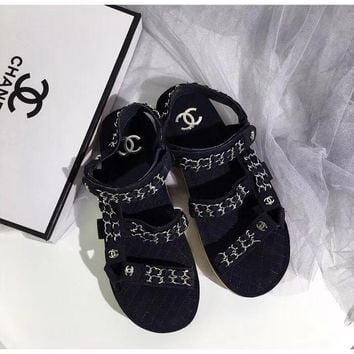 shosouvenir 【CHANEL】Casual and casual flat shoes
