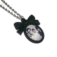 The Smiths Necklace, Morrissey Cameo Necklace, 80s